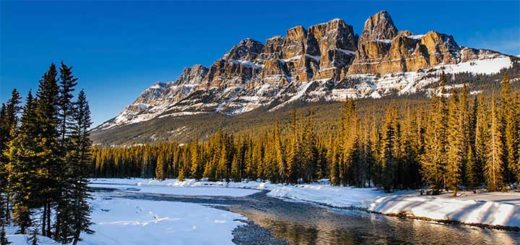 Canadian Rockies Winter Holiday
