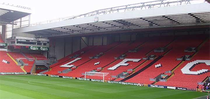 Liverpool Stadium Tour August