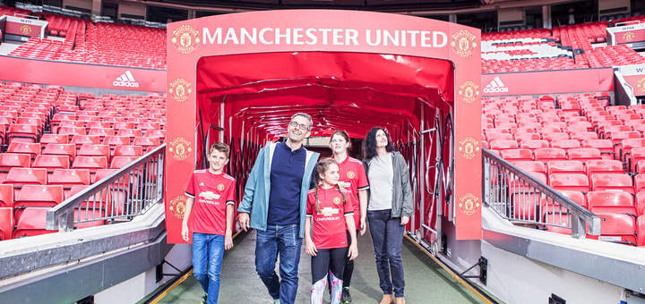 Manchester United Football Club Museum and stadium tour tickets